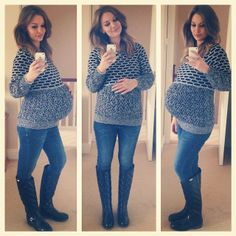 ⛅️Here is yesterday's 🌂👢Still pregnant & exhausted 😭🙏👶💙 Stylish Maternity, Maternity Wear, Maternity Fashion, Maternity Style, Pregnancy Fashion Winter, Pregnancy Outfits, Pregnancy Style, Anna Saccone Instagram, Postpartum Fashion