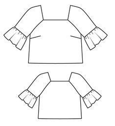 Пуловер прямого кроя с рукавами реглан Burda Patterns, Blouse Dress, Addiction, My Style, Magazines, Sketches, Tech, Business, Drawings