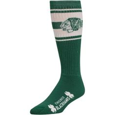 Chicago Blackhawks St. Patrick's Day Super Tube Socks - Kelly Green... I need these! !##