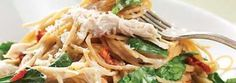 This fettuccine recipe from Raley's looks tasty!