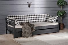 INKA-laverin runko ja RUUTU-patjasarja Decor, Furniture, Storage Bench, Home Decor, Indoor, Storage, Bench