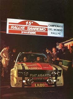 Jean-Claude Andruet / Christian Delferrier (Fiat-Abarth 131) vainqueur du Rallye de San Remo 1977 - sport-auto novembre 1977. Sports Car Racing, Sport Cars, Race Cars, Fiat Abarth, Automobile, Rally Car, Courses, Monte Carlo, Concept Cars