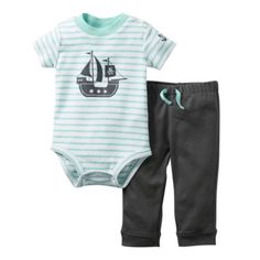 Carter's® 2-pc. Bodysuit and Pants Set - Boys nb-24m  found at @JCPenney