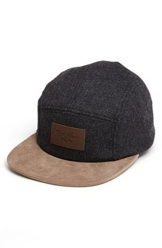Brixton 'Cavern' Five Panel Cap available at #Nordstrom