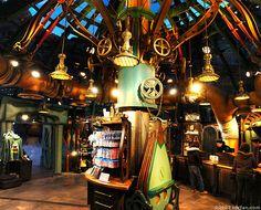 Nautilus Gifts at DisneySea Tokyo Disney Sea, Tokyo Disney Resort, Leagues Under The Sea, Nautilus, Disney Movies, Island, Gallery, Gifts, Disney Films