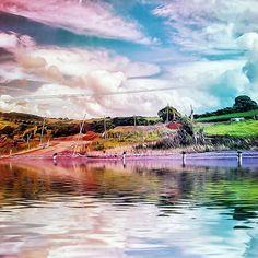'Rainbow Farm' by © Karin Taylor Framed Prints, Canvas Prints, Art Prints, Farming S, Macro Photography, Travel Mug, Rainbow, Iphone, Poster