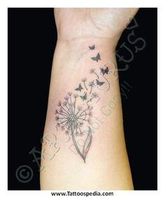 Tattoo – Artsaurus… - Dandelion wrist tattoo – This one is small yet simpl. - Tattoo – Artsaurus… – Dandelion wrist tattoo – This one is small yet simple. Girly Tattoos, Pretty Tattoos, Life Tattoos, Beautiful Tattoos, Body Art Tattoos, Small Tattoos, Sleeve Tattoos, Tatoos, Butterfly Wrist Tattoo