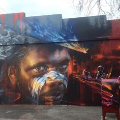 Consulta esta foto de Instagram de @streetartaustralia • 284 Me gusta Murals Street Art, Street Art News, 3d Street Art, Street Art Graffiti, Street Artists, Graffiti Artwork, Street Art Melbourne, Urbane Kunst, World Street