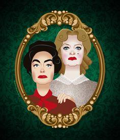 Bette Davis & Joan Crawford in Whatever happened to Baby Jane?