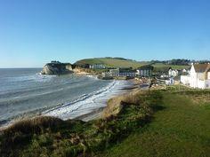 Freshwater Bay, Isle of Wight, England
