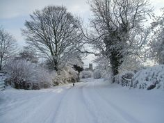 East Markham in the Snow. My village, my home. I can't imagine life away from the countryside and it's beautiful scenery