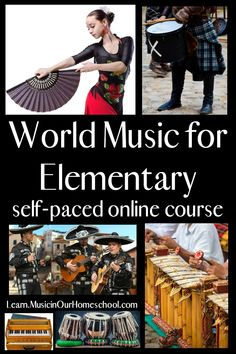 The Ultimate List of Elementary World Geography Resources - I Choose Joy! World Geography, World Music, Online Courses, Elementary Music, Appreciation, Tin Whistle, Music Theory, Private School, Homeschool Curriculum