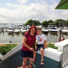 "We asked readers to send in photos from Father's/Mother's Day - here's one of our faves! ""We live in Old Town Alexandria. We spent the day doing our favorite local things, which started with brunch at Chart House."" - Beth Ha - thanks for sending in!"