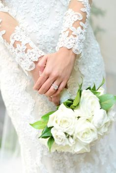 Bridal Bouquet - All White Wedding Ideas - Susie Marie Photography - Madison House Designs Tent Wedding, Wedding Dresses, All White Wedding, White Weddings, Popular Flowers, Long Sleeve Wedding, Wedding Planning, Wedding Ideas, Bride Bouquets
