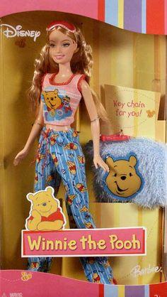 Winnie the Pooh Barbie #H1703