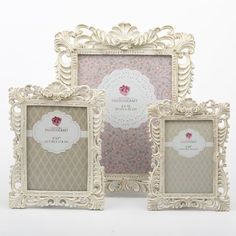 You'll love the Avah 3 Piece Baroque Picture Frame Set at Wayfair - Great Deals on all Décor & Pillows products with Free Shipping on most stuff, even the big stuff.