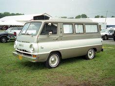 1960s Dodge A100 Camper Van