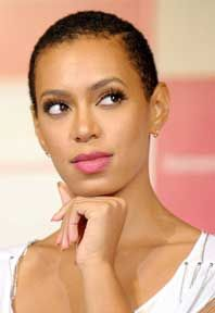 Solanges Knowles......just beautiful as her sister Beyonce.