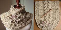 A Beautiful Knit Scarf (free pattern)   www.ladylifehacks.com