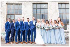 wedding colors A Slate Blue Wedding at the Southern Bleachery Blue Tux Wedding, Baby Blue Weddings, Dream Wedding, Light Blue Suit Wedding, Light Blue Tux, Baby Blue Wedding Theme, Periwinkle Wedding, Glitter Wedding, Slate Blue Weddings
