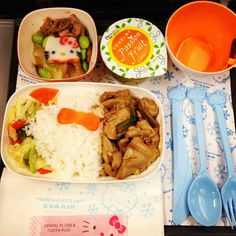 Air Hello kitty meal