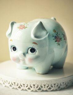 Pretty cute piggy bank