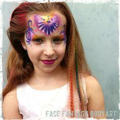 Princess facepainting by Face Fantasy BodyArt.  Www.facefantasy.nl