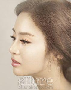Kim Tae-hee // Allure Korea