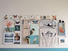 Geninne Zlatkis' inpsiration wall