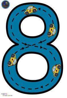 Numbers Kindergarten, Numbers Preschool, Kindergarten Learning, Preschool Learning Activities, Toddler Activities, Preschool Activities, Math Numbers, Flashcards For Kids, Kindergarten Math Worksheets