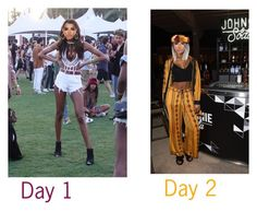 """""""Coachella day 1&2"""" by jordanjoise ❤ liked on Polyvore featuring art"""
