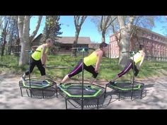 Cours de Jumping fitness Partie 1/ Jumping fitness class Part 1 - YouTube