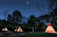 Glamping at Lake Lanier Resort...North Georgia Ultimate Canopy Tours at Lake Lanier | starts at $90