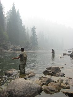 I want to go fly fishing on a river in some remote part like Montana or something for fish that have never had any interactions with humans or fishing.