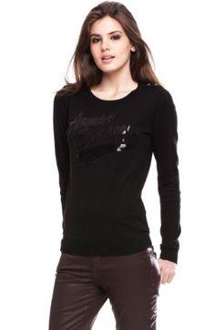 Armani Exchange Sequin Logo Sweater