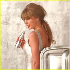 Taylor Swift: Diet Coke Commercial Sneak Peek!