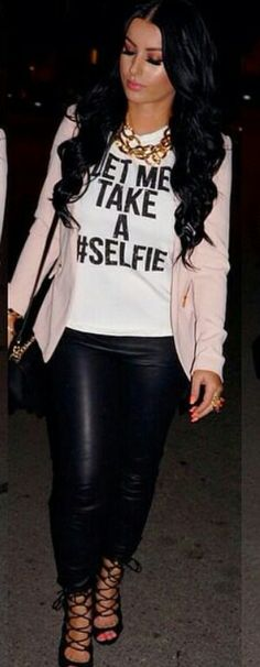 "I love the ""Let Me Take A Selfie "" Tee"