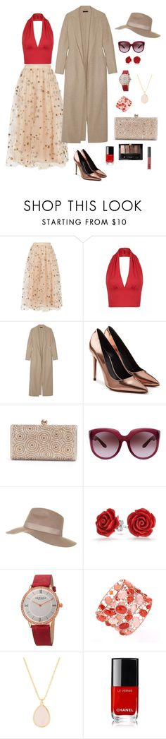 """Fall Collection 2016"" by rebeca-frausto on Polyvore featuring Valentino, The Row, Alexander Wang, Bottega Veneta, Topshop, Bling Jewelry, Akribos XXIV, Rivka Friedman y Guerlain"