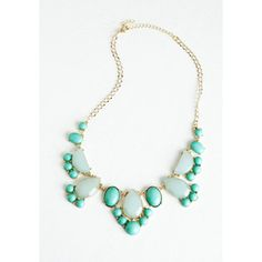 ModCloth Statement Here We Glow Again Necklace
