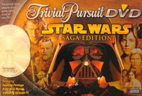 Trivial Pursuit DVD: Star Wars Saga Edition | Board Game | BoardGameGeek