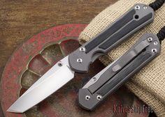 Chris Reeve Knives: Large Sebenza 21 - Tanto - Micarta Inlay