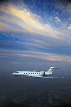 Gulfstream G650 aloft