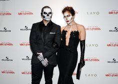 Pin for Later: All the Best Looks From Heidi Klum's Annual Halloween Bash Jennifer Lopez and Casper Smart