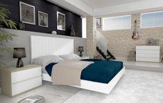 Modernes Holzbett : Modell LAMAS