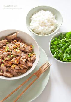 Carne di maiale saltato in salsa piccante COREEA