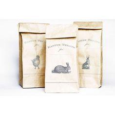 Vintage Easter Treat Bags ( Free Printables)   #FREE #Easter #Printable