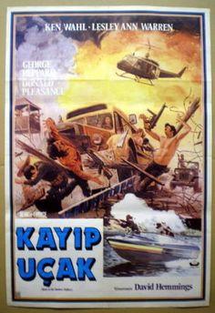 Turkish Movie Poster Race TO THE Yankee Zephyr KEN Wahl Lesley ANN Warren | eBay