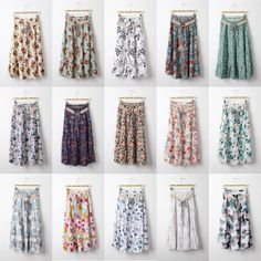 Free Shipping Solid Pleated A-line Elastic Waist Chiffon Girl ...