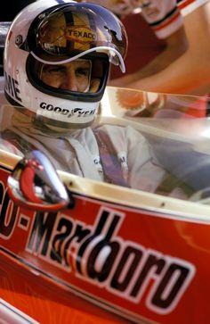 Denny Hulme (NZL) McLaren M23. Monaco Grand Prix, Monte Carlo 1974