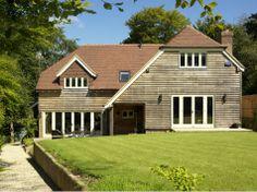 Oakwrights barn style oak framed homes gallery